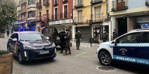 """La Policía Local de Cuenca detiene a una persona y denuncia a otras 11 personas por """"saltarse"""" el estado de alarma"""