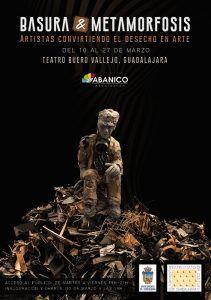 La sala de exposiciones del Teatro Buero Vallejo inaugura este martes la exposición 'Basura & Metamorfosis'