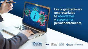 Las organizaciones empresariales de Castilla-La Mancha han atendido ya más de 20.000 consultas sobre coronavirus