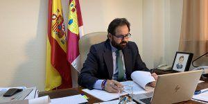Núñez afirma que el PP-CLM seguirá trasladando a Page propuestas para mejorar la gestión del COVID-19