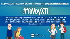 """Nuevas Generaciones presenta la campaña de adscripción de voluntarios ante el COVID-19 """"YoVoyXti"""""""