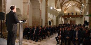 Page propone incorporar el Palacio Ducal de Pastrana a la Red de Hospederías de Castilla-La Mancha