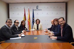 El Gobierno de Castilla-La Mancha y CERMI suman esfuerzos en la estrategia para favorecer el empleo de las personas con discapacidad