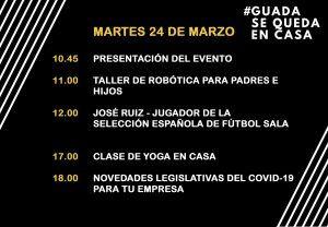 Vecinos de Guadalajara organizan una serie de talleres online para amenizar el confinamiento