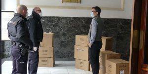 Castilla-La Mancha va a repartir en los domicilios 5 millones de mascarillas gratuitas y de uso rápido