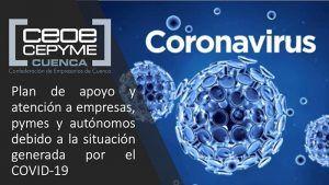 CEOE-Cepyme Cuenca realiza aclaraciones para que sectores con actividad no suspendida puedan funcionar