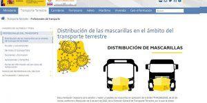 CEOE-Cepyme Cuenca traslada que el Ministerio de Transporte realiza un segundo reparto de mascarillas