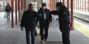 Comienzan a repartirse en la provincia de Guadalajara las 54.000 mascarillas que el Gobierno de España adquirió para desplazamientos al trabajo