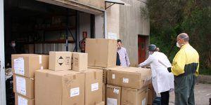 El área de Salud de Cuenca recibe otros 1.000 test rápidos para la detección del coronavirus y más de 13.000 artículos de protección