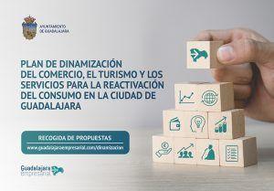 El Ayuntamiento Guadalajara inicia una consulta masiva para la puesta en marcha inmediata de un plan para el estimulo del consumo