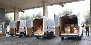 El Gobierno de Castilla-La Mancha realiza este martes un nuevo envío con más de 260.000 artículos de protección para los profesionales sanitarios