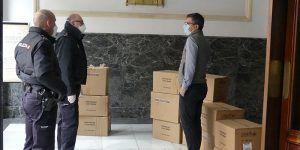 El Gobierno de España distribuirá 54.000 mascarillas en Guadalajara a partir de este martes