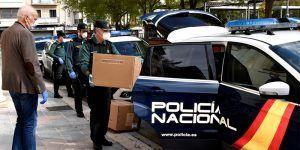 El Gobierno de España reparte en Cuenca 40.000 mascarillas a FF. y CC. de Seguridad y Protección Civil