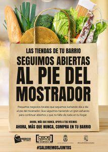 La Asociación de Comercio de Cuenca anima a los conquenses a que compren en las tiendas de alimentación de barrio