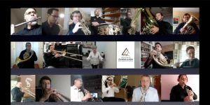 La Banda de Música de la Diputación felicita con un precioso vídeo la Semana Santa a Guadalajara