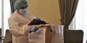 La Diputación de Guadalajara ha enviado ya EPIs a 242 pueblos de la provincia