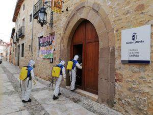 La empresa pública Geacam realiza 1.204 intervenciones en 267 pueblos de la provincia de Guadalajara en su lucha contra el COVID19