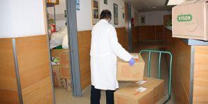La Junta distribuye otros 1.000 test rápidos para el área de Salud de Cuenca y más de 17.000 artículos de protección