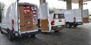 La Junta envía este sábado más de 593.000 artículos de protección para los profesionales de los centros sanitarios y sociosanitarios de la región