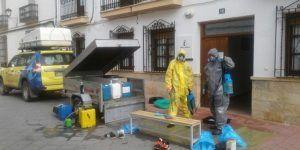 La Junta ha realizado tareas de limpieza y desinfección en más de medio centenar de viviendas tuteladas de la provincia de Cuenca