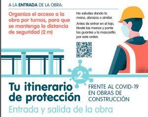 Patronal y sindicatos de la construcción acuerdan una guía en materia preventiva para la vuelta a las obras el próximo lunes