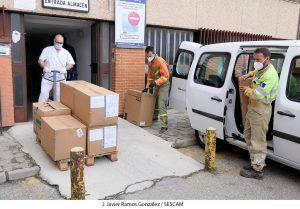 La Gerencia del Área Integrada de Guadalajara ha recibido en los últimos días lotes de material de protección que comprenden más de 43.000 elementos