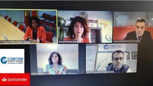 Banco Santander y CEOE-Cepyme Guadalajara firman un convenio de colaboración