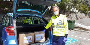 Ceder Alcarria conquense comienza el reparto de elementos de protección, delantales y manguitos de plástico para sanitarios, por los centros de salud de la comarca