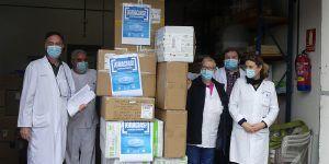 CEOE-Cepyme Cuenca entrega al hospital Virgen de la Luz material sanitario procedente de una donación de Talleres Garrido
