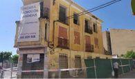 El Ayuntamiento de Cuenca ordena a los propietarios de un edificio ruinoso del Paseo San Antonio realizar obras de rehabilitación