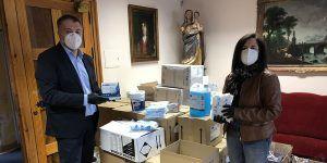 El Ayuntamiento de Cuenca ha invertido hasta el momento cerca de 46.000 euros en material de protección para los trabajadores municipales