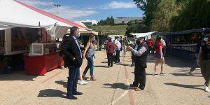 El Ayuntamiento de Cuenca se muestra satisfecho con la reapertura del mercadillo y espera ampliar puestos en las próximas semanas