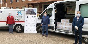 El Gobierno regional ha donado 336 kilos de miel a cuatro entidades sociales de Guadalajara