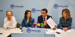 """El Grupo Popular juzga """"inadmisible"""" el anuncio del Alcalde de Cuenca sobre la no elaboración de los presupuestos del Ayuntamiento"""