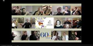 La Banda de Música de la Diputación de Guadalajara comparte la Canción a Guadalajara en internet