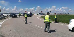 La Guardia Civil de Guadalajara intensifica la vigilancia para evitar desplazamientos no autorizados en la Fase 1