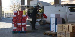 La Junta realiza un nuevo envío de equipos de protección para los profesionales sanitarios con más de 374.000 artículos