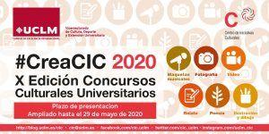 La UCLM presenta #CreaCIC 2020, la X Edición de Concursos Culturales Universitarios