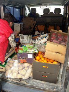 Las Conferencias de San Vicente Paúl de San Nicolás el Real en Guadalajara dona más de 800 kilos de comida a cien familias