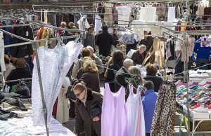 El mercadillo de Guadalajara regresa este sábado a la calle la Tajera con estrictas medidas de seguridad para comerciantes y clientes