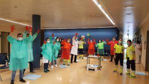 """Residentes de Enfermería Familiar y Comunitaria organizan un taller de higiene de manos para los profesionales del Centro de Salud """"Cuenca I"""""""