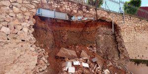 Susto en Cuenca por un desprendimiento espectacular