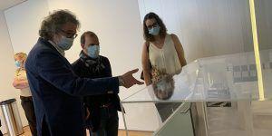 """Bellido anima a la ciudadanía, desde el Museo Francisco Sobrino, a que aproveche la vuelta a la normalidad para """"descubrir y redescubrir"""" Castilla-La Mancha"""