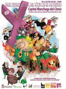 La Feria Internacional del Cómic de El Provencio contra el San Diego Comic Con