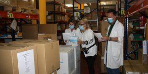 El área de Salud de Cuenca recibe del Gobierno regional otros 3.200 test rápidos, más de 43.000 artículos de protección y 350.000 guantes