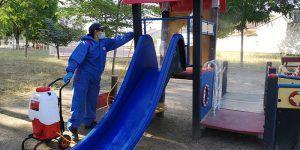 El Ayuntamiento de Cabanillas reabre las zonas de juego infantil, canchas deportivas y parques de esparcimiento canino