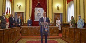 El Ayuntamiento de Guadalajara firma un acuerdo con Cruz Roja, Accem, Cáritas y Guada Acoge por el que destina 1,5 millones de euros a la recuperación social