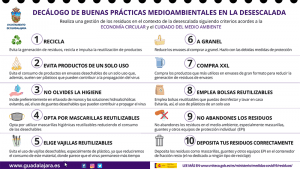 El Ayuntamiento de Guadalajara llama a la concienciación en el Día del Medio Ambiente y edita un decálogo de buenas prácticas durante la desescalada
