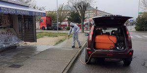 El Ayuntamiento de Villanueva de la Torre ha invertido ya más de 30.000 euros para hacer frente a la pandemia