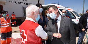 El Gobierno de Castilla-La Mancha reconoce la labor de Cruz Roja durante la crisis de la COVID-19